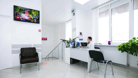 Второй этаж клиники лечения бесплодия ИГР в Киеве