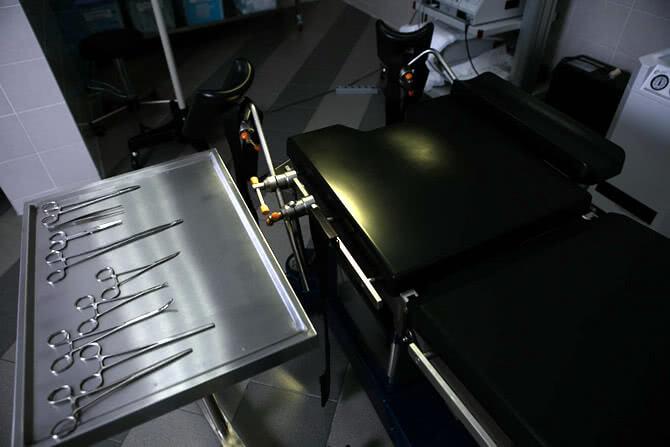 Лапароскопия маточных труб или кисты яичника Киев